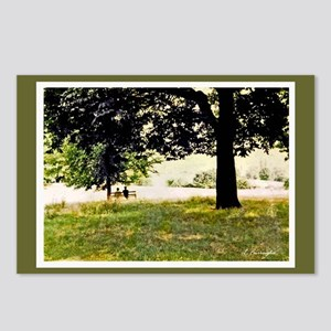Courting in Hampstead Heath Postcards (Package of