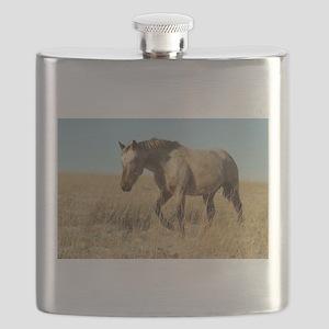 Roan horse Flask