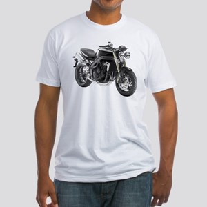 Triumph Speed Triple Black #2 Fitted T-Shirt