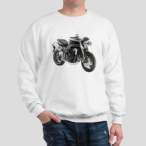 Triumph Speed Triple Black #2 Sweatshirt