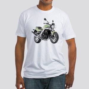 Triumph Speed Triple Light Green Fitted T-Shirt
