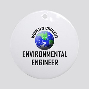 World's Coolest ENVIRONMENTAL ENGINEER Ornament (R