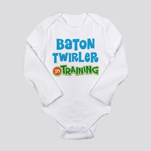 Baton twirler in training Infant Bodysuit Body Sui