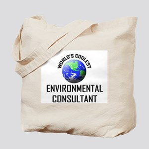 World's Coolest ENVIRONMENTAL CONSULTANT Tote Bag