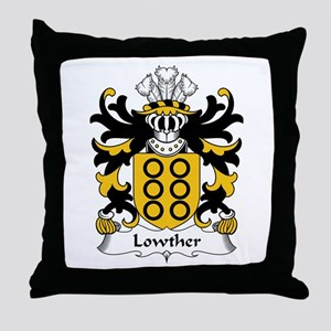 Lowther (Quartering of Powell of Hosely) Throw Pil