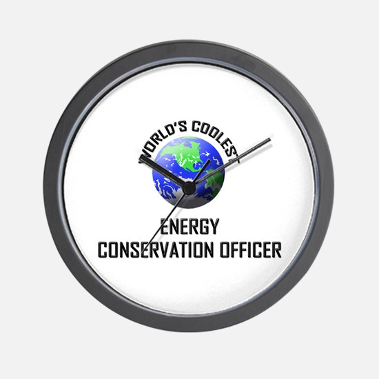 World's Coolest ENERGY CONSERVATION OFFICER Wall C