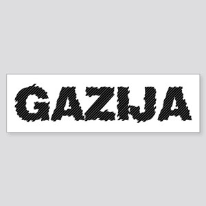 Gazija Bumper Sticker