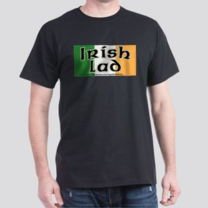 Irish Lad - Flag Design Dark T-Shirt