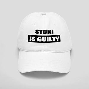 SYDNI is guilty Cap