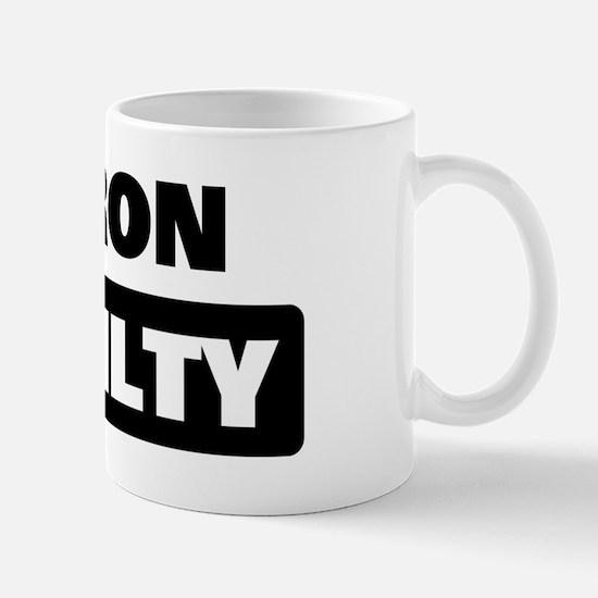 SHARON is guilty Mug