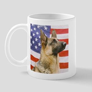 All American Military and Police K9 Mug