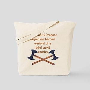 D & D Warlord Tote Bag