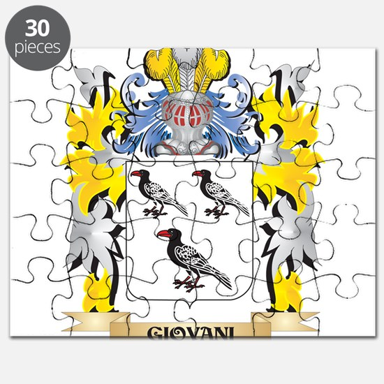 Giovani Coat of Arms - Family Crest Puzzle