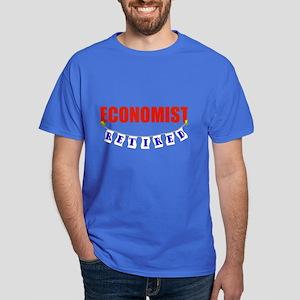 Retired Economist Dark T-Shirt