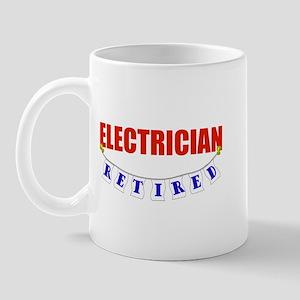 Retired Electrician Mug