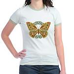Celtic Butterfly Jr. Ringer T-Shirt