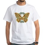 Celtic Butterfly White T-Shirt