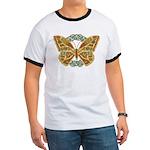Celtic Butterfly Ringer T
