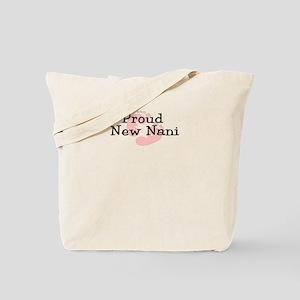 Proud New Nani G Tote Bag