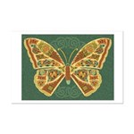 Celtic Butterfly Mini Poster Print