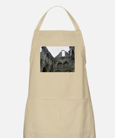 Ghostly Ruins BBQ Apron