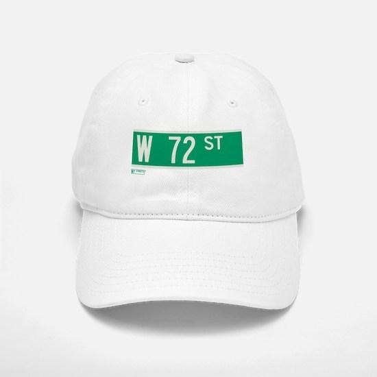 72nd Street in NY Baseball Baseball Cap