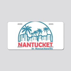 Summer nantucket- massachus Aluminum License Plate