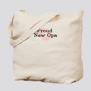 Proud New Opa G Tote Bag