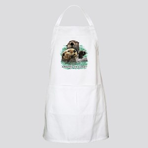 Otterly In Love BBQ Apron
