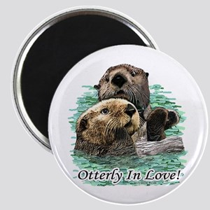 Otterly In Love Magnet