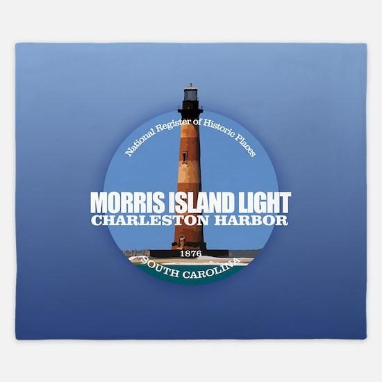 Morris Island Light King Duvet