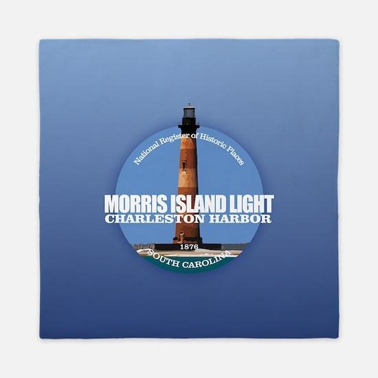 Morris Island Light Queen Duvet