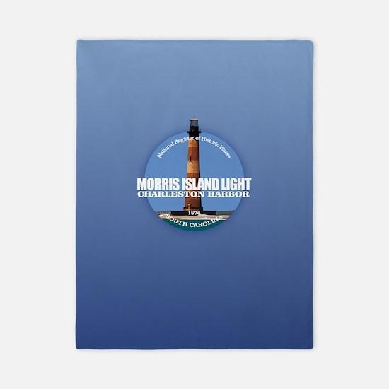 Morris Island Light Twin Duvet Cover