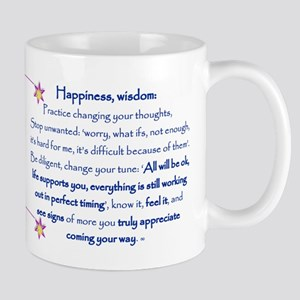 Happiness change your tune to receive Mugs