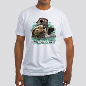 Otterly In Love Fitted T-Shirt