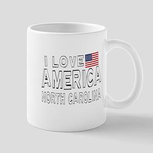 I Love America North Carolina 11 oz Ceramic Mug
