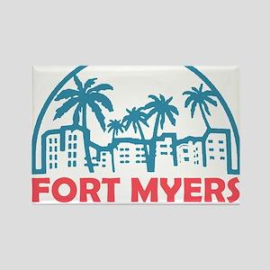 Summer fort myers- florida Magnets