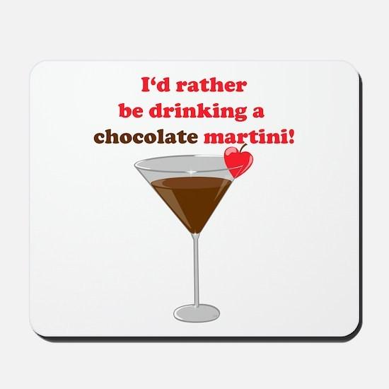 Chocolate Martini Mousepad
