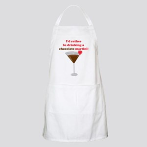 Chocolate Martini BBQ Apron