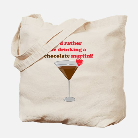 Chocolate Martini Tote Bag