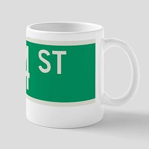 74th Street in NY Mug