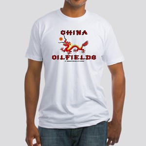 China Oilfields Fitted T-Shirt