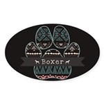Boxer Sticker (Oval 50 pk)
