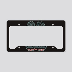 Boxer License Plate Holder