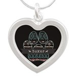 Boxer Silver Heart Necklace