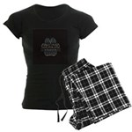 Boxer Women's Dark Pajamas