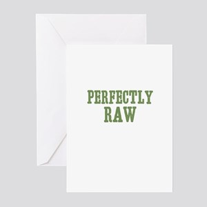 Perfectly Raw Greeting Cards (Pk of 10)