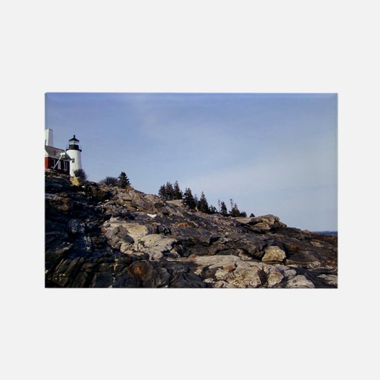 Funny Pemaquid point Rectangle Magnet
