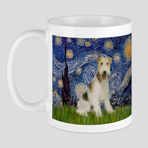 Starry / Fox Terrier (W) Mug