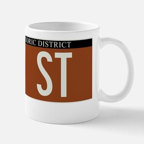 75th Street in NY Mug